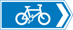 Newent Loop Blue Sign